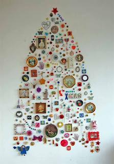 árvore de natal diferente não tem como descrever