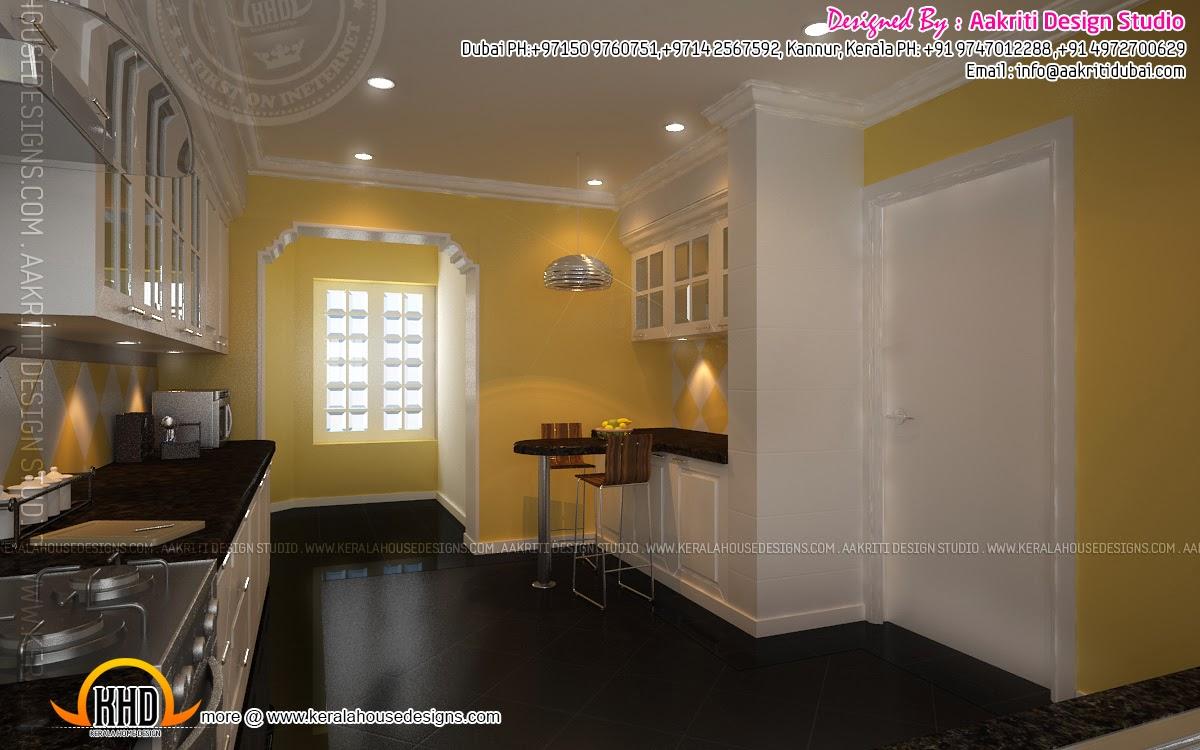 Kitchen interior view 2