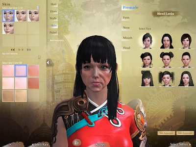ArcheAge - Character Creation Skin
