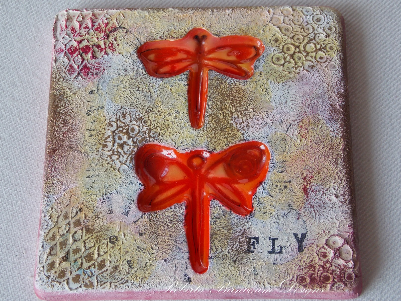 Cool2Cast dragonfly tile