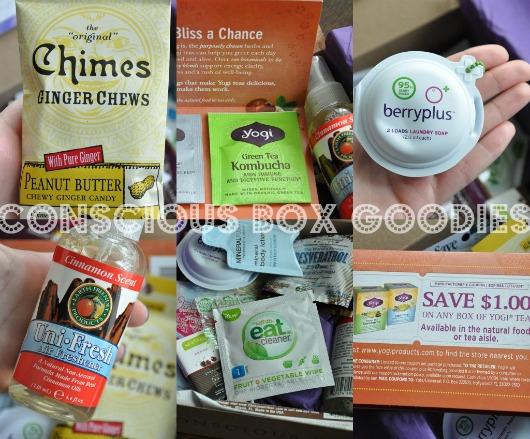 conscious box contents