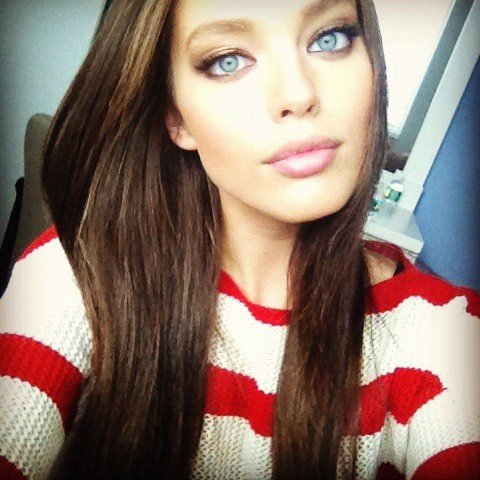 Emily DiDonato's ♥ big blue eyes