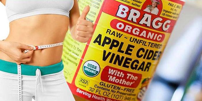 Esta es la manera de perder peso con el vinagre de manzana