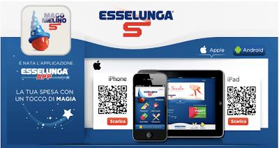 ricetta e ricette: Esselunga Mobile App la voglio anch'io