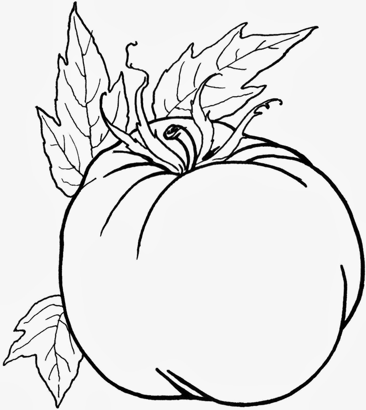 Coloring Pictures Of Vegetables