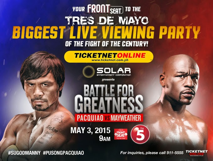 PACQUIAO VS MAYWEATHER LIVE STREAMING