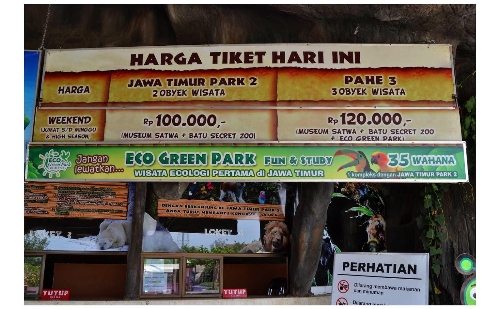 Nam Main Di Batu Secret Zoo Jatim Park 2 One Of Indonesian