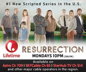 Resurrection - Every Mondays 10PM on Astro Ch 709 (Lifetime)