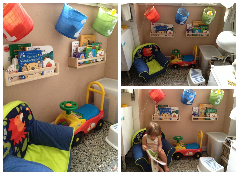 Angolo Lettura Per Bambini : Newbie mom mini angolo lettura per bimbi precoci