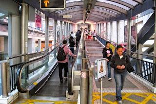 Eskalator Satu Arah Terpanjang Di Dunia