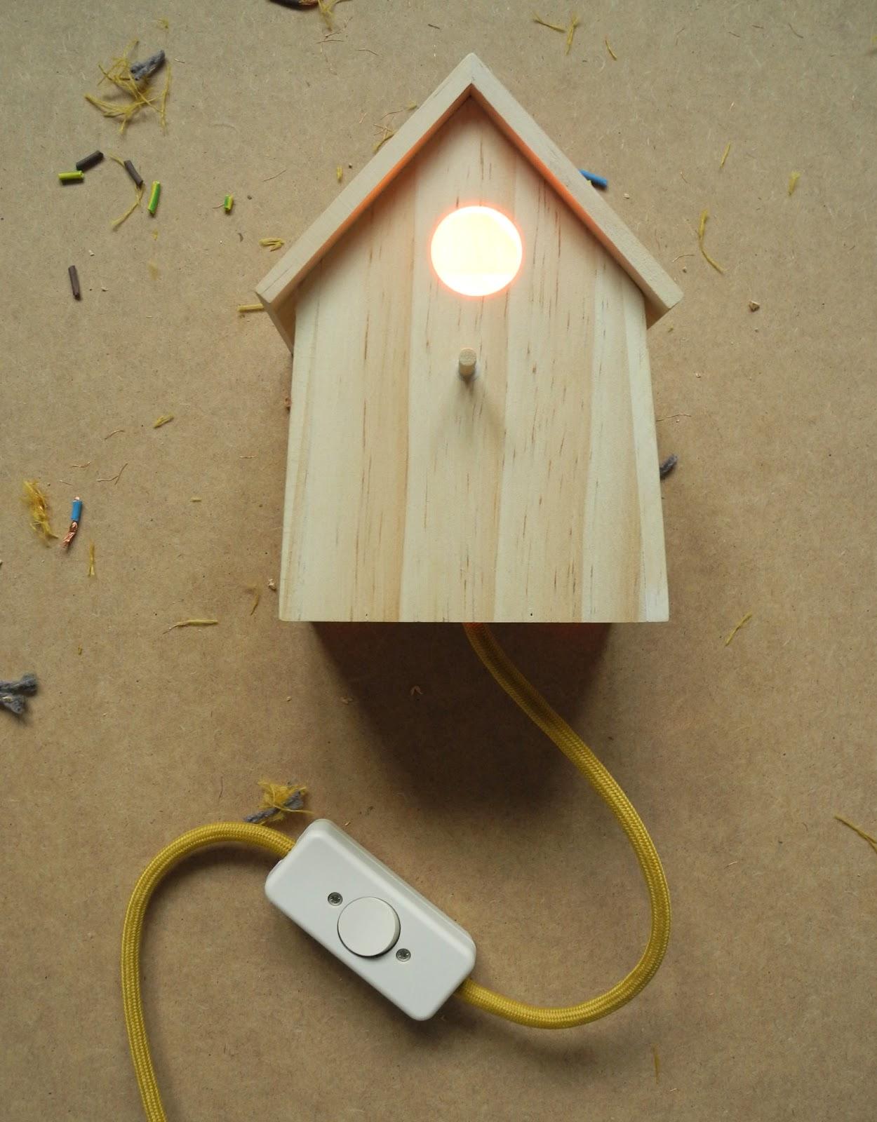 m é l i m é l o: Vogelhaus-Leuchte