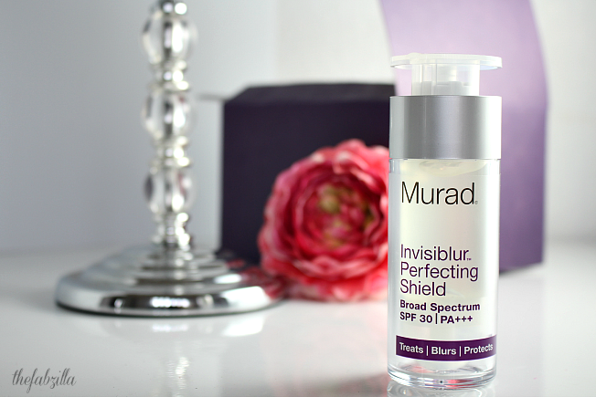 Murad Invisiblur Perfecting Shield, Face Primer, Sunscreen, Anti-Aging, What is PA+++, What is UVA, What is UVB, What is SPF,
