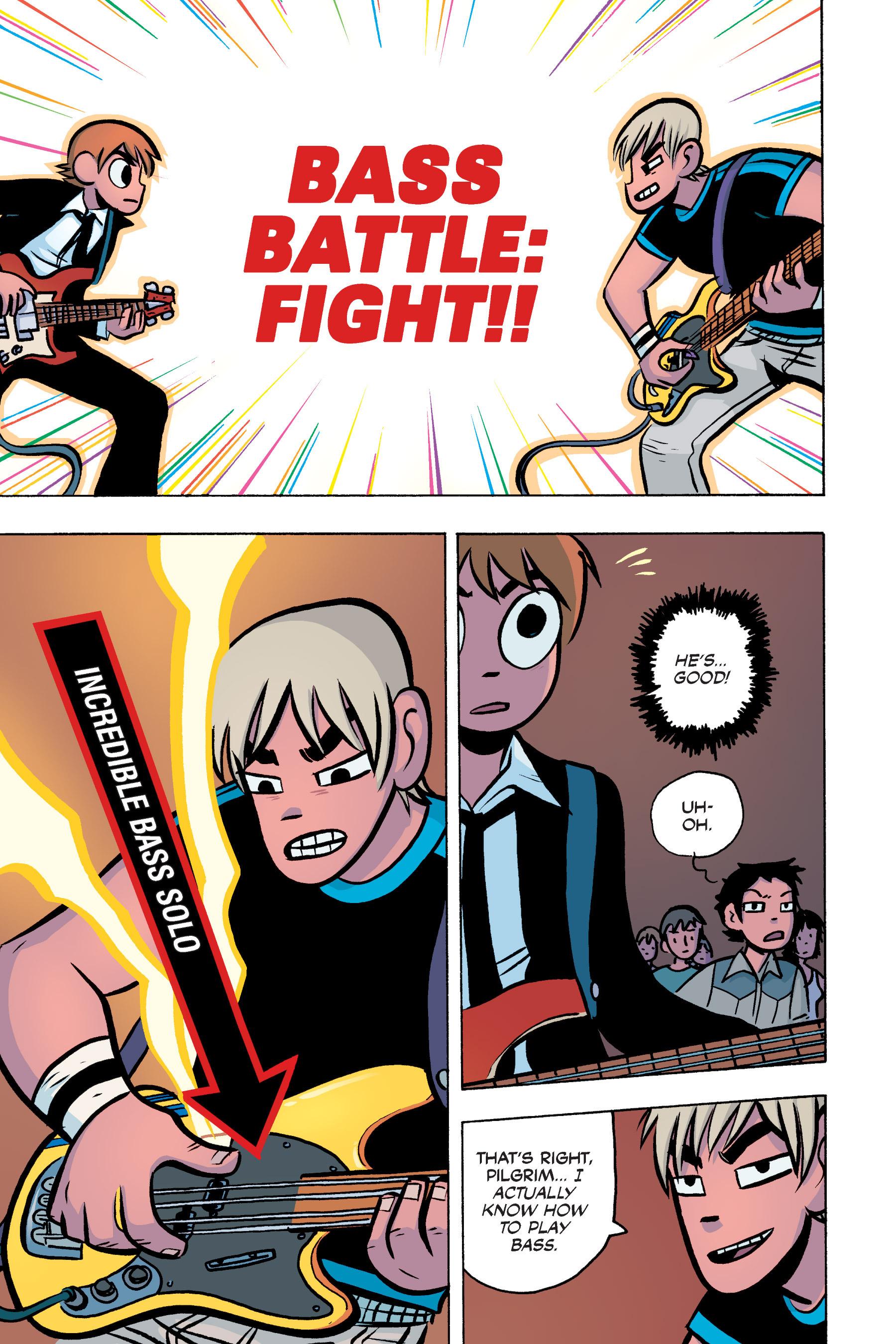 Read online Scott Pilgrim comic -  Issue #3 - 153