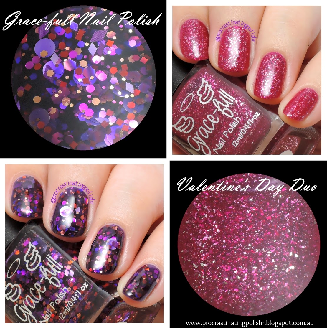 Grace-full Nail Polish Valentine's Day Duo