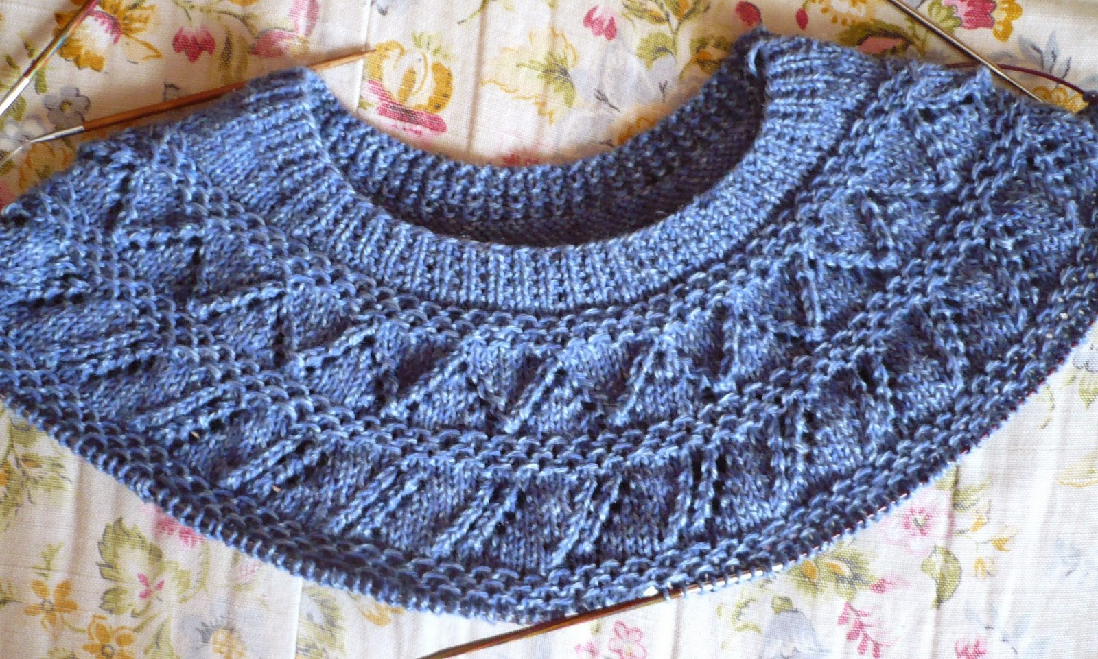 Cabin fever sisters knit circular yoke ii it also has a larger neck opening with a ribbed pattern which i would also put on the cuffs and bottom edge same basic circular yoke sweater bankloansurffo Images