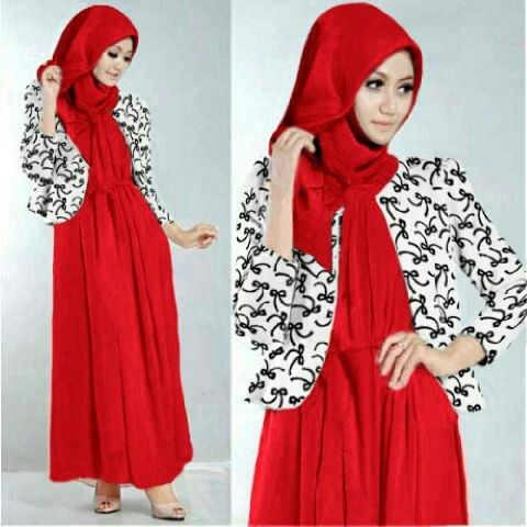 Hijab Nesya Red Online Shop