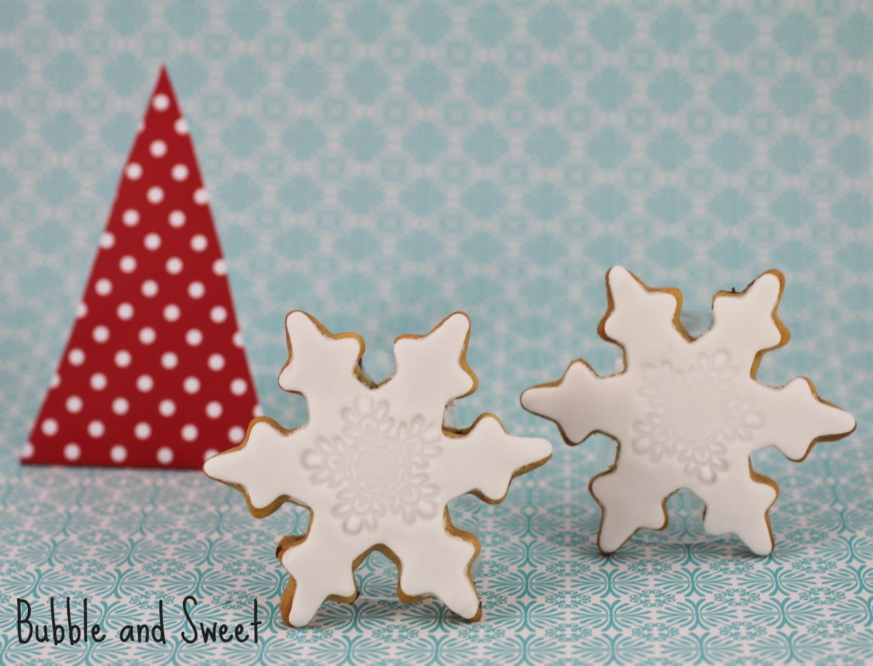 Snowflake Cutout Cookies Another christmas cookie