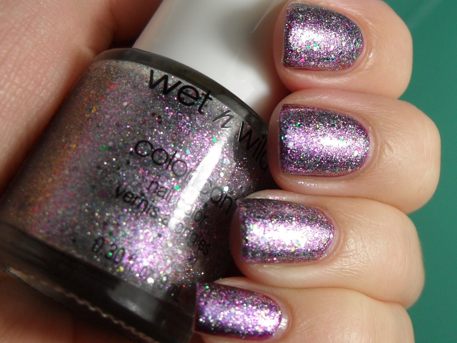 Polished Claws Up!: Layering Fun - Wet N Wild Be Jeweled The Crown ...