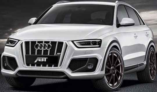 abt+q3+1 New look for AUDI Q3 designed by Special tuning designers