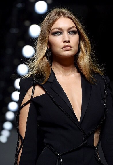 Gigi Hadid From Atelier Versace's Haute Couture Spring 2016 Show