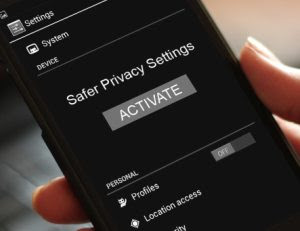 privacy android, ios e windows phone