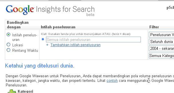 Mencari Keyword Populer? Gunakan Tool Ini