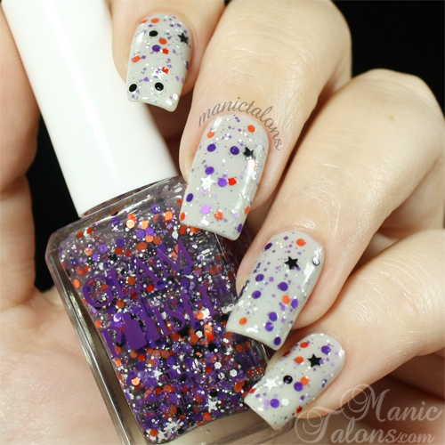 Glam Polish Snoopy The Witch Swatch