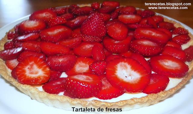 Tartaleta de fresas.