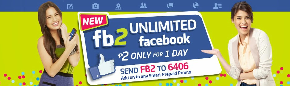 Smart's latest promo lets you browse facebook for only 2 peso