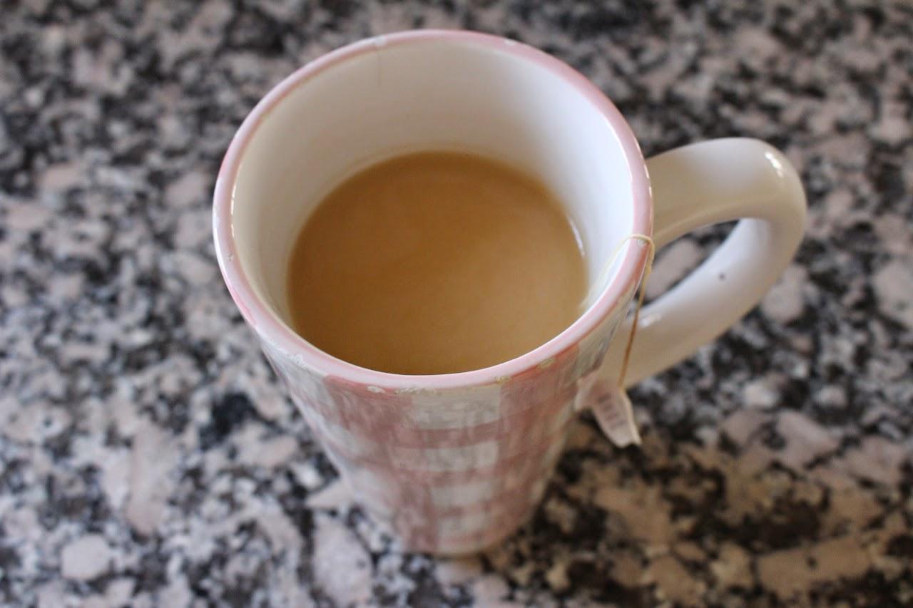 Coconut chai banana smoothie