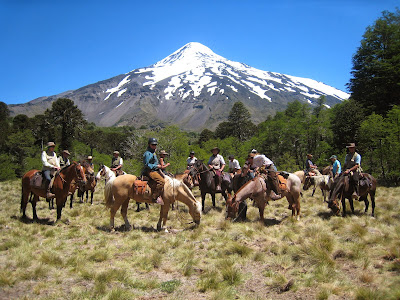 Sophie Neville, riding through Chile in South America