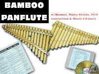 BAMBOO PANFLUTE / PAN PIPE