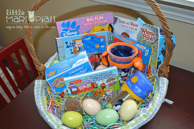 Creative ideas for easter baskets little marsupials my sons easter basket from last year filled with all things boy negle Images