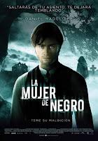 Cartel de La mujer de negro, con Daniel Radcliffe