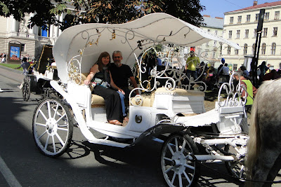 Horse and Carriage ride, Lviv, West Ukraine