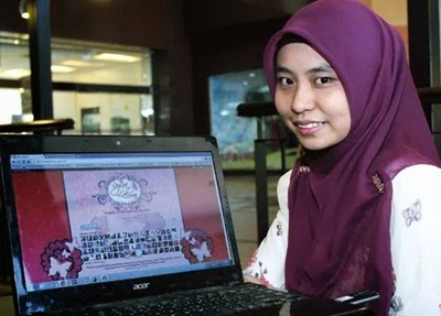 Blogger Syira Lokman di Harian Metro