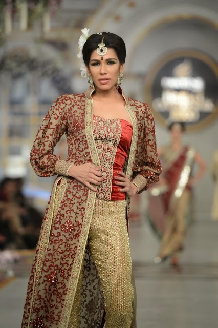 Mehdi- Pakistani Bridal Fashion at Pantene Bridal Couture Week 2013 PBCW Lahore