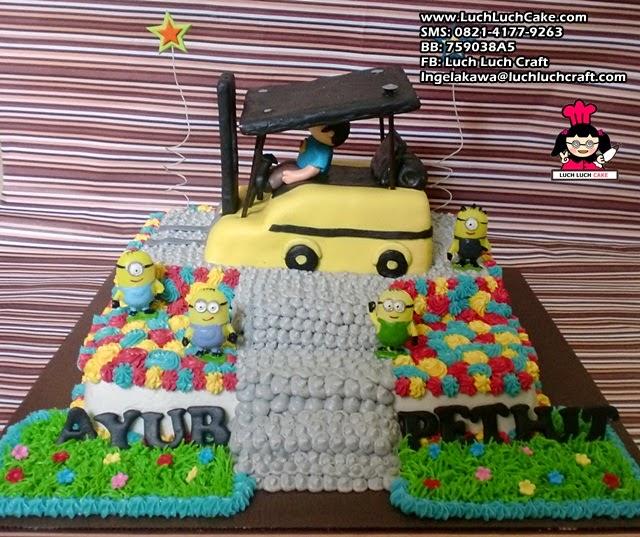 Kue Tart Forklift Truck