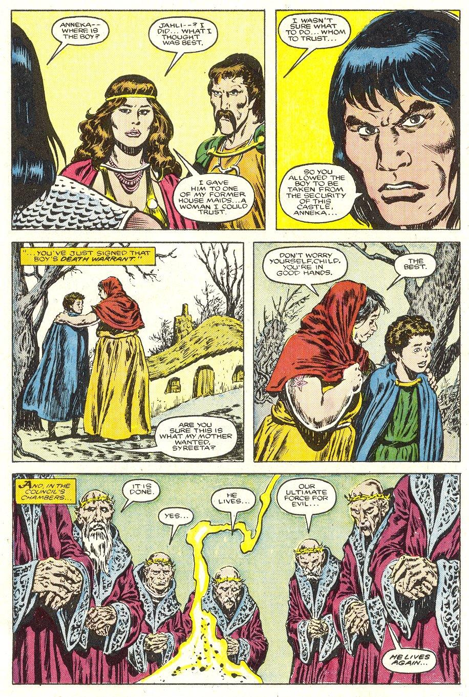 Conan the Barbarian (1970) Issue #187 #199 - English 23