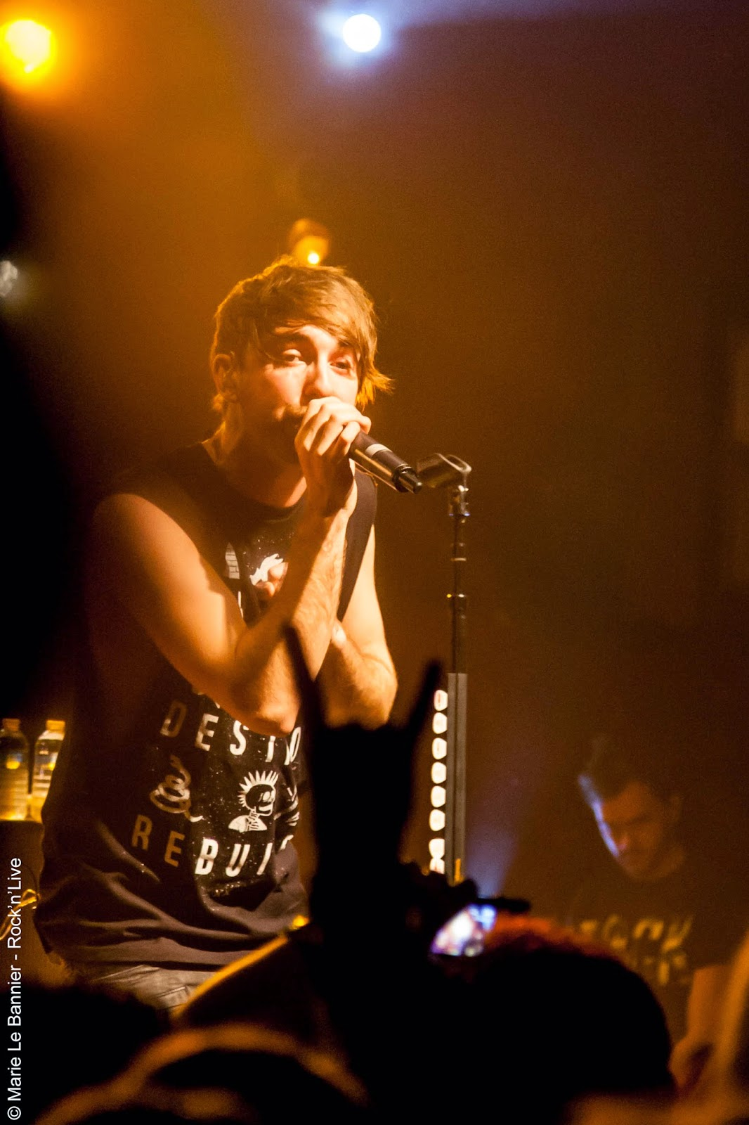 All Time Low Paris Cabaret Sauvage Concert Live Report 2014 Rock'n'Live Marie Le Bannier Alex Gaskarth Jack Barakat Rian Dawson Zack Merrick Nothing Personal Dirty Work Don't Panic Dear Maria, Count Me In Weightless Somewhere in Neverland