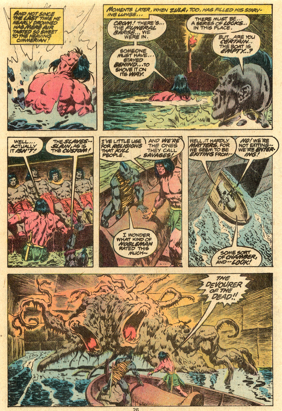 Conan the Barbarian (1970) Issue #86 #98 - English 14