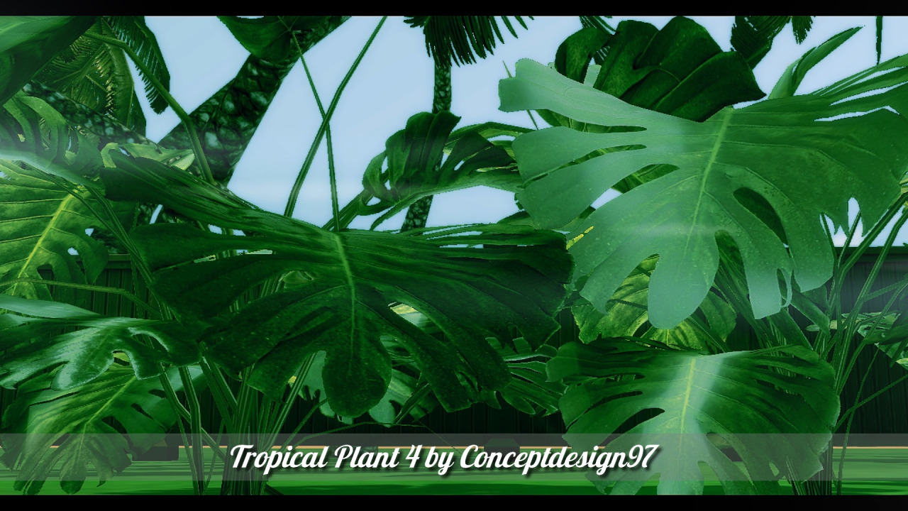 My sims 4 blog tropicana outdoor pack 10 tropical for Outdoor shrubs and plants