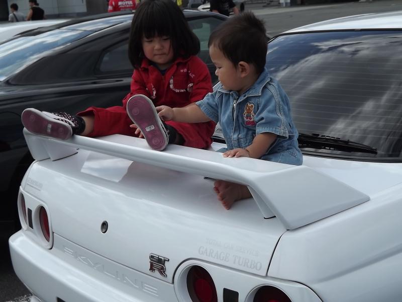 Nissan Skyline R32, dzieci, kids