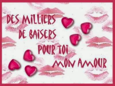 Sms d'amour bisous