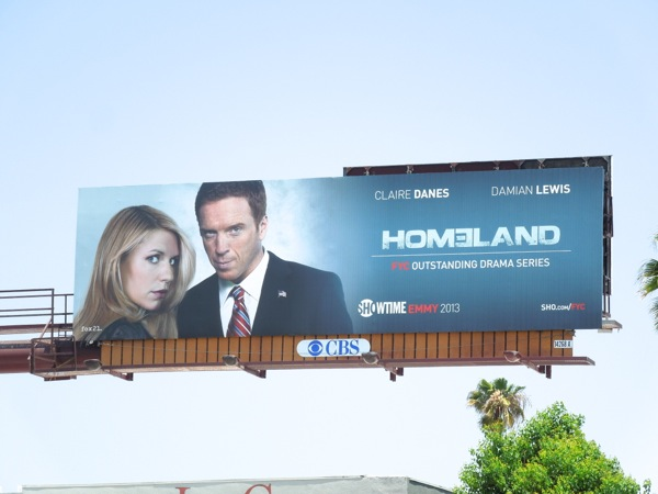Homeland season 2 Emmy billboard