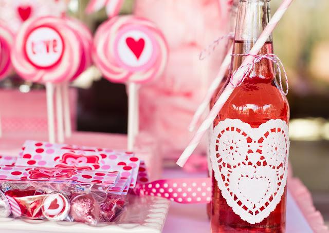 canudos listrados rosa