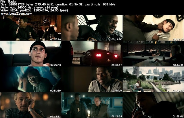 Freelancers (2012) BluRay 720p 600MB Free Movies