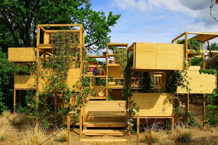 Chaumont sur loire festival des jardins suspensions for Jardin suspendu 2015