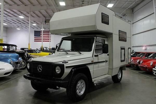 1982 mercedes benz 300gd camper rv camper. Black Bedroom Furniture Sets. Home Design Ideas