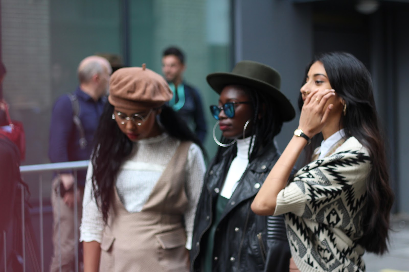 london fashion week september 2015 street style photos